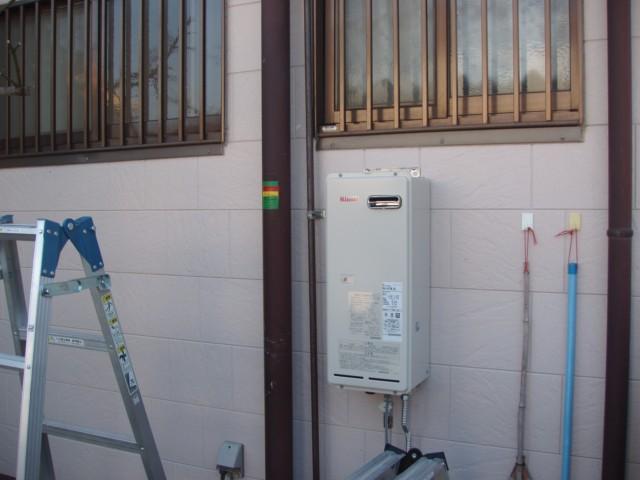 浴室暖房乾燥機の設置風景